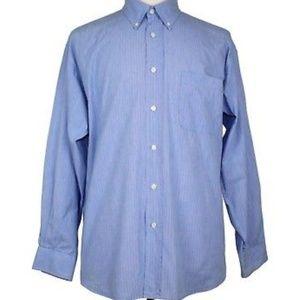 Yves Saint Laurent Button Down Blue Dress Shirt
